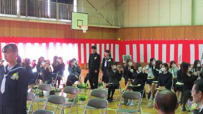 卒業生入場2