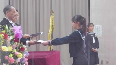 卒業証書授与2