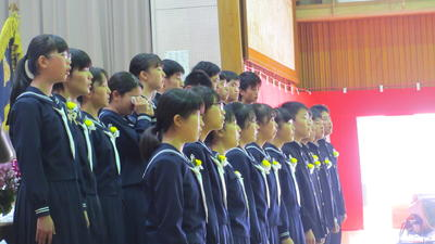 卒業生合唱2